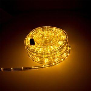 LED Lichtschlauch 12m Warmweiß für Aussen Innen Lichterschlauch Lichterkette Lichtband Partylicht Dekobeleuchtung Weihnachtsbeleuchtung