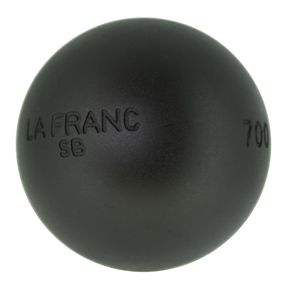 Boulekugeln La Franc SB (Soft Black) 76 700,0 ohne Holzkoffer