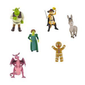 Comansi Spielzeugfigur Shrek: Drache 9 cm lila