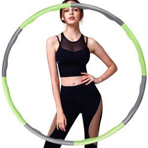Hula Hoop, Hula Hoop Reifen Erwachsene (0.8-1 kg) Einstellbare Breite (19-35 Zoll) Hula Hoop Reifen für Kinder/Erwachsene Indoor Outdoor Fitness Gymnastik
