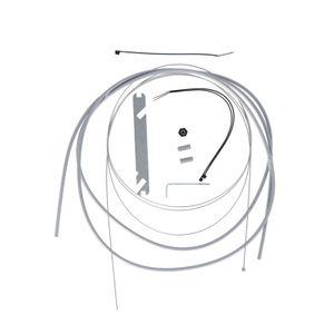 XLC Schaltzugkit Nexus4/7/8 1700/2250mm 1 Nippel, silber (1 Set)