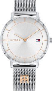 Tommy Hilfiger Damen Analog Silber/Silber Edelstahl Armbanduhr | 1782288