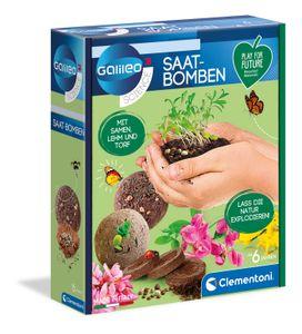 Clementoni 59206 Galileo Play for Future Saat-Bomben