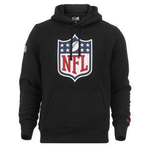 New Era - NFL Shield Logo Hoodie - Schwarz Farbe: Schwarz Größe: 3XL