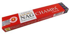 Räucherstäbchen  15g Ca 15 Sticks Golden Nag Champa