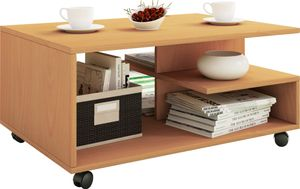 Couchtisch Wohnzimmertisch Beistelltisch Sofatisch Stubentisch Tisch Buche Nachbildung