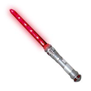 Laserschwert Lichtschwert Schwert 60cm mit Sound und Licht Effekten wählbar rot