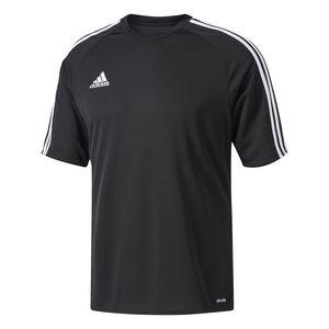 adidas ESTRO 15 JUNIOR Kinder Trikot T-Shirt Schwarz, Größe:128
