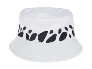 Fischerhut im Trafalgar Law Design | Bucket Hat für One Piece Fans | Weiß