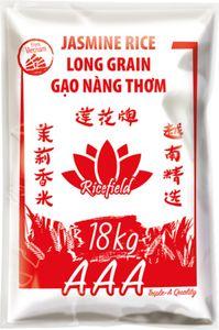 Ricefield- Jasmin Reis 18 Kg, Langkorn Reis