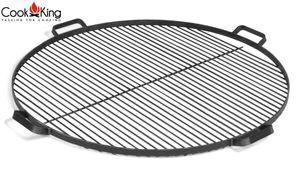 CookKing 111273 Grillrost mit 4 Griffen aus Rohstahl 80cm
