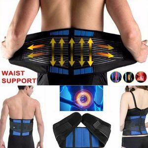 Melario Rückenbandage mit Neopren Lumbo Stützgürtel Rückenstütze Rückengurt TOP Gr.L Für Taillenumfang 100-110cm