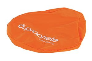 PROPHETE_Sattelregenschutz, schützt vor Feuchtigkeit und Nässe, universelle Passform für alle gängigen Fahrradsättel, orange_8158