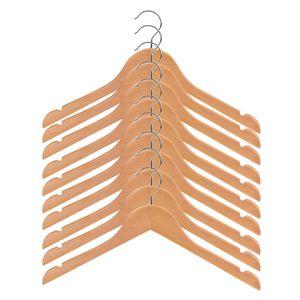 20 Stück / Packung Kinder Kinder Baby Holzmantel Kleiderhose Kleiderbügel Holzhaken Trockengestell 32 Cm