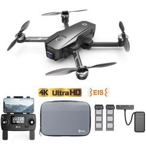 Holy Stone HS720E(HS105) 4K EIS Drohne mit UHD Kamera und GPS Quadrocopter ferngesteuert mit 2 Akkus Lange Flugzeit,Follow Me,5G WiFi FPV Übertragung,Return Home,Bürstenloser Motor,Anti-Shake für Anfänger