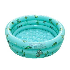 Planschbecken Kinder Aufblasbares Pool Schwimmbecken Kinderpool Babypool für Garten und Outdoor