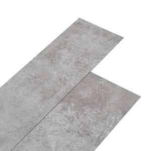 vidaXL PVC-Laminat-Dielen 5,02 m² 2 mm Selbstklebend Erdtöne Grau