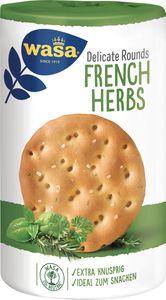 Wasa Delicate Rounds French Herbs mit Kräutern und Meersalz 205g