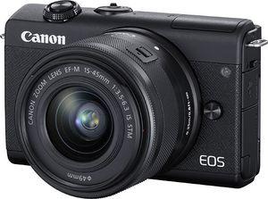 Canon EOS M200 BK M15-45 S+SB130+16GB EU, 24,1 MP, 6000 x 4000 Pixel, CMOS, 4K Ultra HD, Touchscreen, Schwarz
