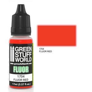 Green Stuff World - Fluor Farbe Rot