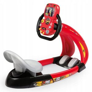 Smoby Fahrsimulator Cars XRS V8 Rot und Schwarz