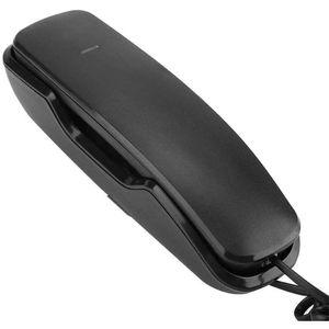 Mllaid Schnurgebundenes Telefon Festnetztelefon Hängendes kabelgebundenes Wandtelefon - Weiß, Schwarz