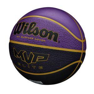 Wilson basketball MVP Elite-Gummi schwarz violett Größe 7