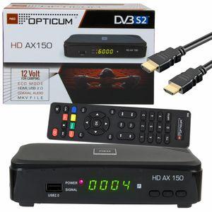 OPTICUM HD AX 150 Sat Receiver HD mit PVR Aufnahme