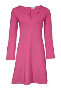 RICK CARDONA Damen Designer-Jerseykleid, pink, Größe:38