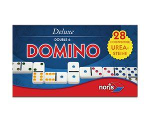 Noris Spiele Deluxe Doppel 6 Domino; 606108002
