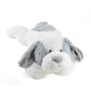 """Pink Papaya Hund """"Lou"""" 100cm Plüschtier XXL Kuscheltier in grau"""