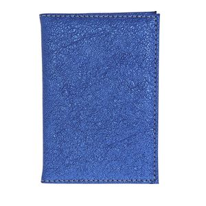 Reisepasshülle, blau