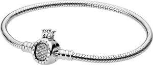 PANDORA Armband 598286CZ Moments Crown O Schlangenkette  19