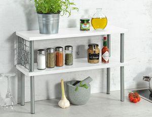 Kesper Küchen-Regal, Farbe: weiß, 27821