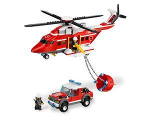 LEGO CITY Feuerwehr Helicopter (7206)