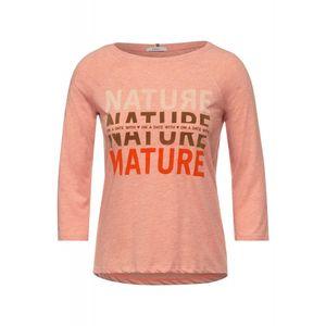 Shirt mit Fotoprint, Größe:S, Farbe:33377 PAPRIKA ORANGE MELANGE
