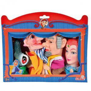 Kasperle Figuren für das Puppenspiel 4 Handpuppen im Set