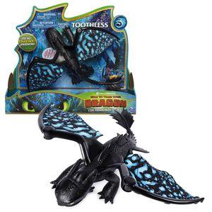 Deluxe Drache Ohnezahn | DreamWorks Dragons | Licht & Sound | Toothless