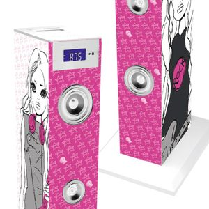 BigBen Turmlautsprecher Musikturm Motiv USB Radio Sound Tower Soundtower Bigben TW 5 Rock