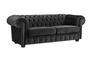 Max Winzer Norwin Sofa 2-Sitzer - Farbe: schwarz - Maße: 174 cm x 98 cm x 74 cm; 2909-2100-2044140-F07