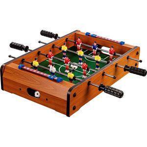 GamesPlanet® Mini Kicker DUNDEE 51x31x8cm, helles Holzdekor