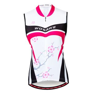 Damen Fahrradweste Radweste Reflektierende Atmungsaktive Laufweste wie beschrieben Rosenrot S