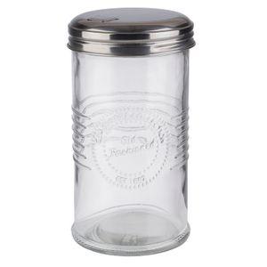 APS Zuckerdosierer -OLD FASHIONED- /// Ø 7,5 cm, H: 14 cm  /// Glas, 0,35 Liter  /// 40510