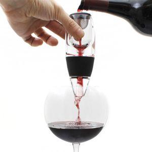 Weinbelüfter Magic Decanter Deluxe mit Ständer Luxus Wein-Dekanter Dekantierer Wein-Ausgießer