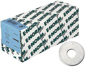 E-NORMpro Unterlegscheiben / U Scheiben DIN 9021 ST galZn 10,5 KP (Inh. 100 Stück)