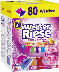 Weißer Riese Color Duo-Caps 80 Waschladungen Waschmittel Colorwaschmittel