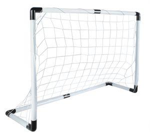 Fußballtor Set 116x79cm Groß Ball Handpumpe Leicht Starkes Netz Einfache Montage 5617