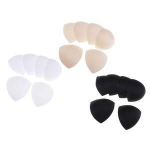 9 Paar Dreieck Brustwarzenabdeckung BH Pads BH Einlagen Cup Schwamm geeignet für A, B, C und D Körbchengröße