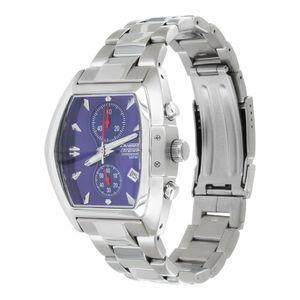 Chronograph SEIKO Armbanduhr italienisches Prisma Design Edelstahl Wasserdicht Uhr Stoppuhr