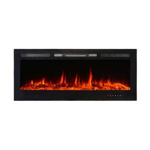 El Fuego® Elektrokamin CERVINIA inkl. Fernbedienung mit energiesparender LED-Beleuchtung